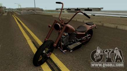 Western Motorcycle Daemon GTA V HQ for GTA San Andreas