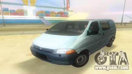 Toyota Granvia for GTA Vice City