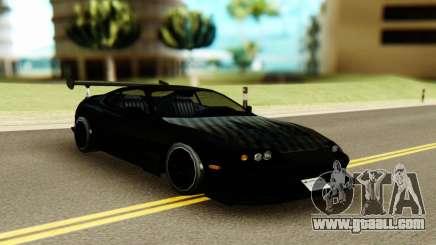 Toyota Supra Black Edition for GTA San Andreas