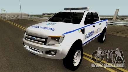 Ford Ranger Guarda Municipal de Canoas for GTA San Andreas