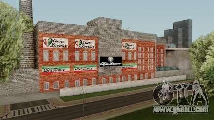 Alfa Romeo Factory for GTA San Andreas