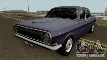 GAZ 24 Volga Stock for GTA San Andreas