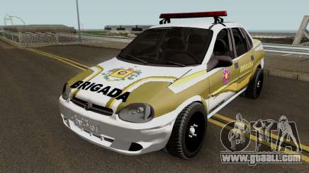 Chevrolet Corsa Brazilian Police for GTA San Andreas