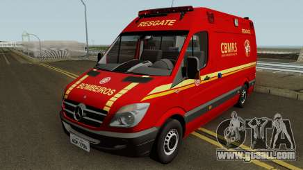 Mercedes-Benz Sprinter Ambulance (CBMRS) for GTA San Andreas