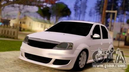 Renault Logan Widebody for GTA San Andreas