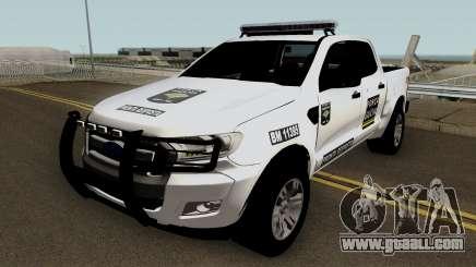 Ford Ranger Brazilian Police (Forca Gaucha) for GTA San Andreas