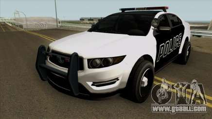 Ford Taurus Police (Interceptor style) 2012 for GTA San Andreas