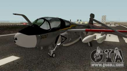 EA-6B Prowler Grey for GTA San Andreas