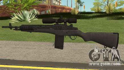 COD-MWR M14 Sniper for GTA San Andreas