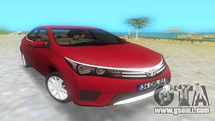 2014 Toyota Corolla for GTA Vice City