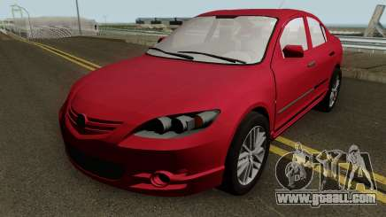 Mazda 3 MQ for GTA San Andreas