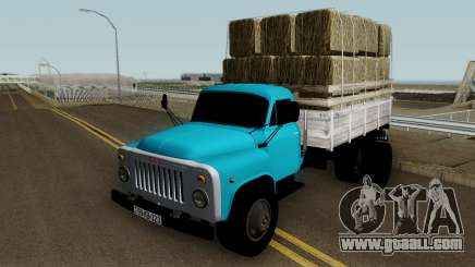Gaz-52 Truck Azerbajian Straw Bale for GTA San Andreas