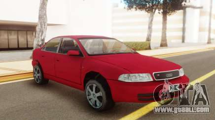 Audi S4 2000 Red for GTA San Andreas