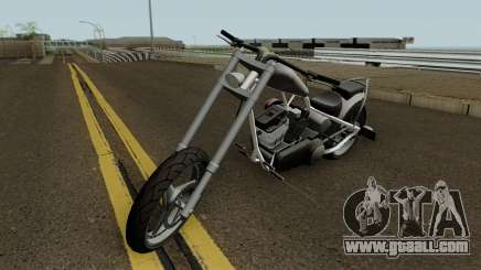 Diabolus de GTA 4 EFLC con Texturas Arregladas for GTA San Andreas
