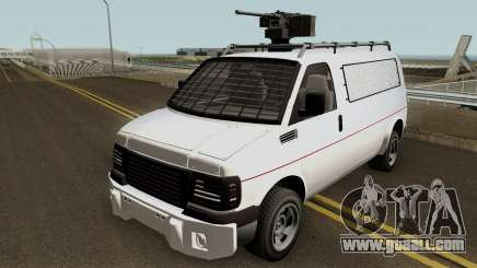 Vapid Speedo Custom And Armored GTA V IVF for GTA San Andreas