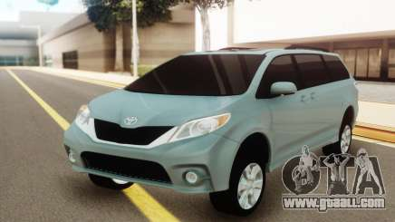 Toyota Sienna for GTA San Andreas