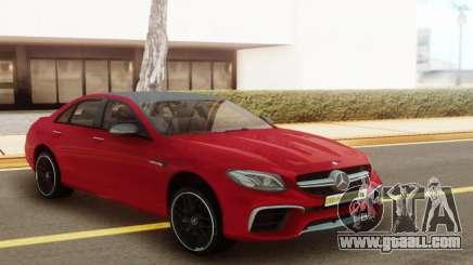 Mercedes-Benz E63S for GTA San Andreas