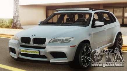 BMW X5M E70 White for GTA San Andreas