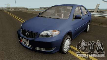 Toyota Corolla Vitz 1.6 for GTA San Andreas