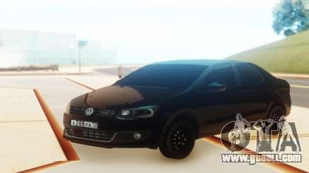 Volkswagen Polo Black for GTA San Andreas