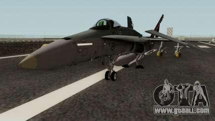 RAAF 2OCU FA-18A 1942-2012 for GTA San Andreas