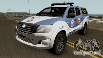 Toyota Hilux 2015 PETO CIPM PMBA for GTA San Andreas