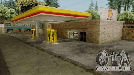 Shell Gas Stations v1.6 for GTA San Andreas