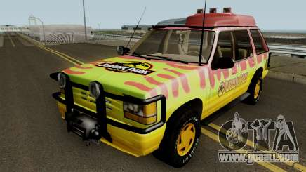 Ford Explorer - Jurassic Park v2 for GTA San Andreas