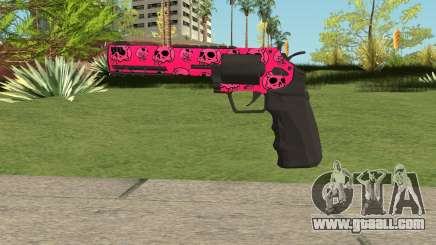GTA Online Heavy Revolver Mk.2 Pink Skull for GTA San Andreas