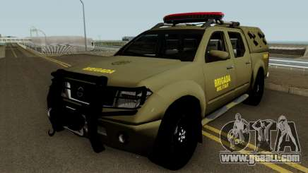 Nissan Frontier Brazilian Police (Verde) for GTA San Andreas