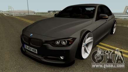 BMW M3 F30 HQ for GTA San Andreas
