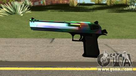 Rainbow Desert Eagle for GTA San Andreas