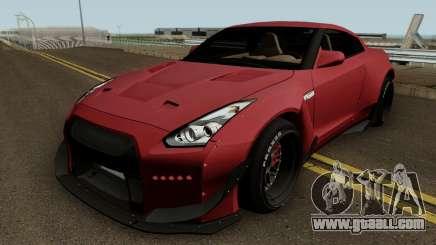 Nissan GT R35 (Rocket Bunny) Edition for GTA San Andreas