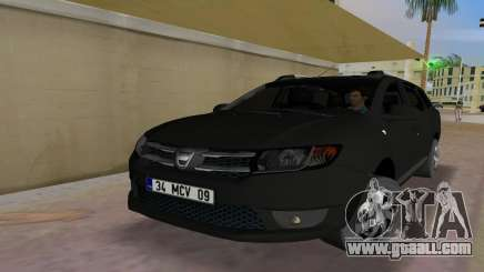 2013 Dacia Logan MCV for GTA Vice City