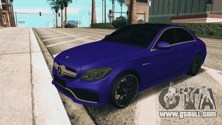 Mercedes-Benz C63S AMG for GTA San Andreas