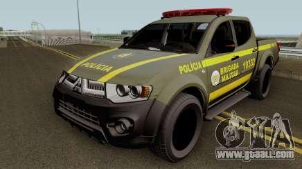 Mitsubishi L200 Brazilian Police (CHOQUE) for GTA San Andreas