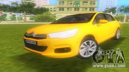 Citroen C4 2012 for GTA Vice City