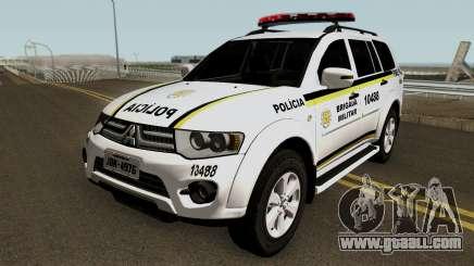 Mitsubishi Pajero Dakar Brazilian Police for GTA San Andreas