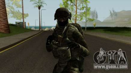 Expeditionary Soldier for GTA San Andreas