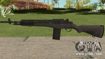 COD-MWR M14 Stock for GTA San Andreas