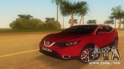 2016 Nissan Qashqai for GTA Vice City