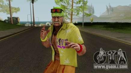 Hulk Hogan (Beach Basher) from WWE Immortals for GTA San Andreas