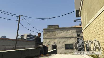 Sit Anywhere Mod 1.2 for GTA 5