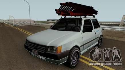 Fiat Uno Mille Fire 2012 for GTA San Andreas