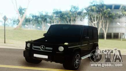Mercedes-Benz AMG G63 vs G55 for GTA San Andreas