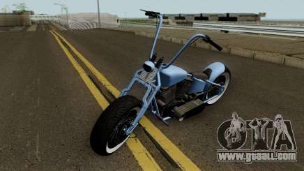 Western Motorcycle Zombie Bobber GTA V HQ for GTA San Andreas