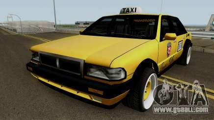 Taxi Remasterizado for GTA San Andreas