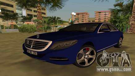 2015 Mercedes-Benz S350 Bluetec for GTA Vice City