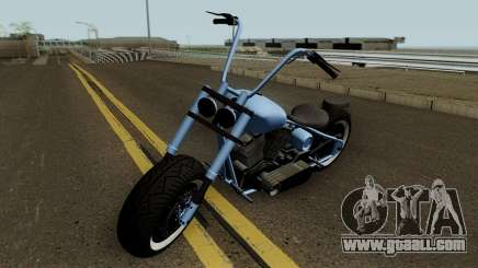 Western Motorcycle Zombie Chopper Con Pain GTA V for GTA San Andreas