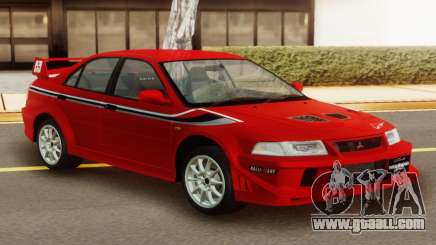 Mitsubishi Lancer Evo VI Tommi Makinen Edition for GTA San Andreas